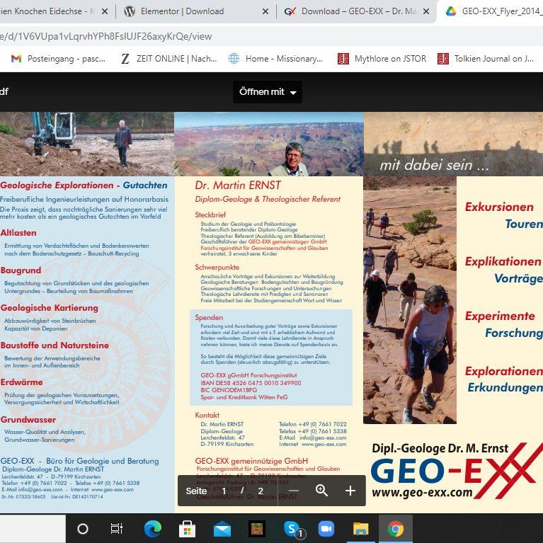 geo-exx flyer